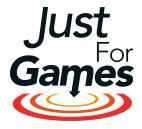 Logo jeux simulation pc justforgames.com