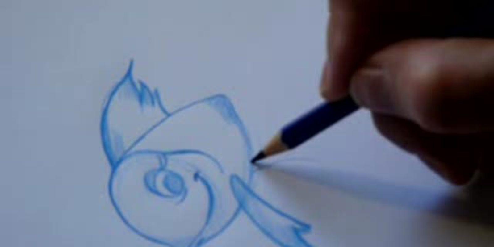 Comment dessiner un poisson - Dessiner un poisson facilement ...